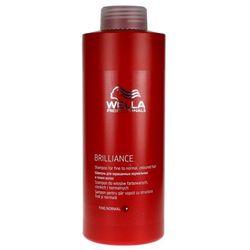 Wella Brilliance - szampon do cienkich włosów farbowanych 1000ml
