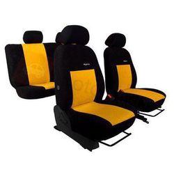 Pokrowce samochodowe ELEGANCE Żółte Renault Koleos od 2008 - Żółty