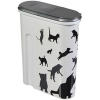 Mały pojemnik do przechowywania karmy dla kota - Curver