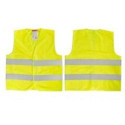 LAHTI PRO Kamizelka ostrzegawcza żółta dla dzieci 7-9 lat M L4130102 (ZNALAZŁEŚ TANIEJ - NEGOCJUJ CENĘ !!!)
