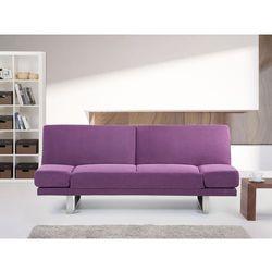 Sofa z funkcja spania fuksja - kanapa rozkladana - wersalka - YORK