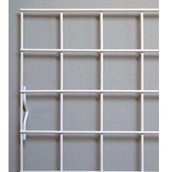 krata ekspozycyjna 100x40cm, metalowa w kolorze białym