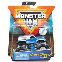 Spin Master Monster Jam pojazd Grave Digger The Legend 1:64 + figurka