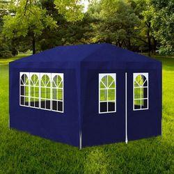 vidaXL Pawilon ogrodowy, namiot, niebieski (3x4m) Darmowa wysyłka i zwroty