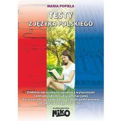 Testy z jezyka polskiego. Szkoła podstawowa (opr. miękka)