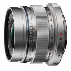 Olympus M.ZUIKO DIGITAL ED 12 mm f/2.0 (srebrny) - produkt w magazynie - szybka wysyłka!