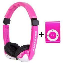 Słuchawki Dla Dzieci Hello Kitty Odtwarzacz MP3 HK
