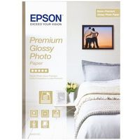 Epson C13S042155 Premium Glossy Photo Paper, DIN A4, 255 g/m2, 15 arkuszy
