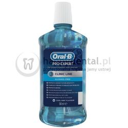 ORAL-B Pro-Expert Clinic Line 500 ml - płyn do płukania ust (bez alkoholu) - PROMOCJA !!!