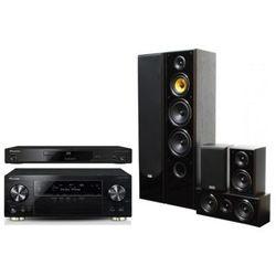Kino domowe PIONEER VSX-930-K + BDP-180-K + Taga Harmony TAV-606 v3 Czarny
