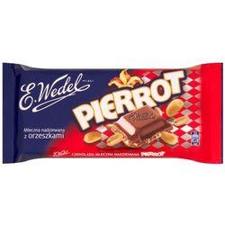 E. Wedel Pierrot Czekolada mleczna nadziewana z orzeszkami 100 g