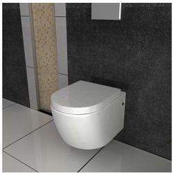 CARLO MINI Miska WC wisząca + deska wolnoopadająca