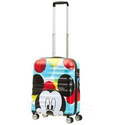 5fd5ba658d688 Walizka kabinowa American Tourister Wavebreaker Disney - mickey close up