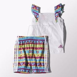 Komplet adidas Girls Beach Set Kids S17165