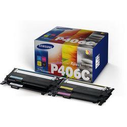 Samsung oryginalny toner CLT-P406C, CMYK, 4500s, Samsung CLP-360, CLP-365, CLX-3300, CLX-3305
