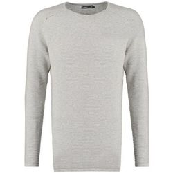 Jack & Jones JCOBAKE REGULAR FIT Sweter light grey melange