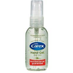 CAREX 50ml Aloe Vera Żel antybakteryjny do mycia rąk
