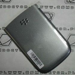 Obudowa Blackberry 9810 Torch tylna / pokrywa baterii srebrna