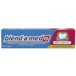 Blend - a - Med Anti - Cavity Herbal Pasta do zębów 100 ml