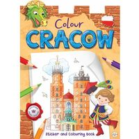 Colour Cracow Sticker and Colouring Book for children (opr. miękka)