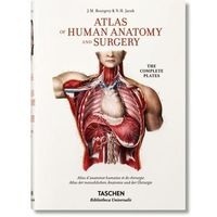 Jean Marc Bourgery. Atlas of Human Anatomy and Surgery (opr. twarda)