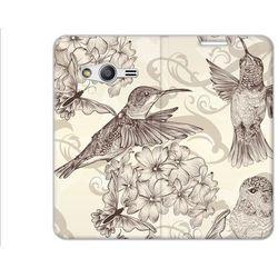 Flex Book Fantastic - Samsung Galaxy Trend 2 Lite - pokrowiec na telefon - birds