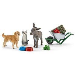 Schleich Zestaw do karmienia zwierząt