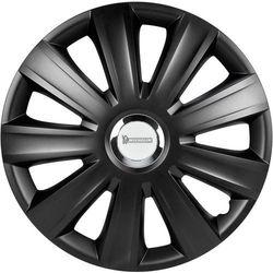 Kołpaki Michelin 92010, R15, 4 szt., Czarny (matowy)