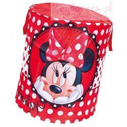 Kosz na zabawki okrągły Myszka Mini Minnie Mouse