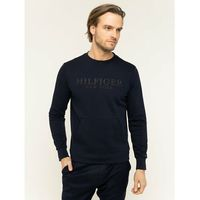 TOMMY HILFIGER Bluza Tech Sweat Shirt MW0MW12306 Granatowy Regular Fit