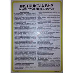 Instrukcja BHP w kotłowniach olejowych