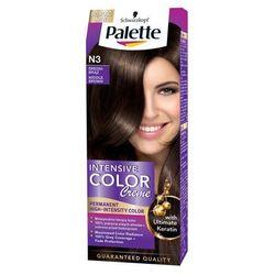 Palette Intensive Color Creme, farba do włosów, N3 średni brąz