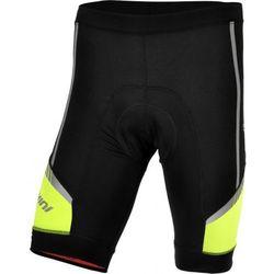 Męskie spodnie rowerowe Silvini Salia MP457 black-neon