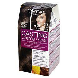 Loreal Paris Casting Creme Gloss Farba do włosów bez amoniaku Mroźne Trufle nr 513