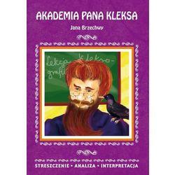 Akademia pana Kleksa Jana Brzechwy (opr. miękka)