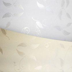Papier ozdobny Liana Galeria Papieru, biały, format A4, opakowanie 50 arkuszy, 206501