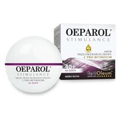 OEPAROL STIMULANCE krem przeciwzmarszczkowy 40+ na dzień dla skóry suchej 50ml