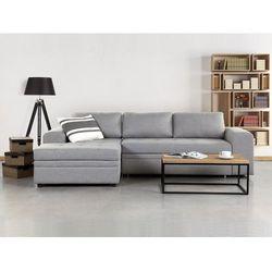 Sofa jasnoszara - Sofa narozna - Sofa rozkladana - Sofa tapicerowana - KIRUNA