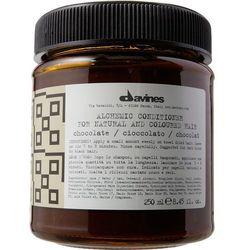 Davines Alchemic Chocolate - odżywka koloryzująca do włosów ciemnobrązowych i czarnych 250ml