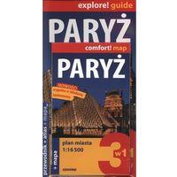 Paryż Przewodnik + Mapa + Atlas (opr. miękka)