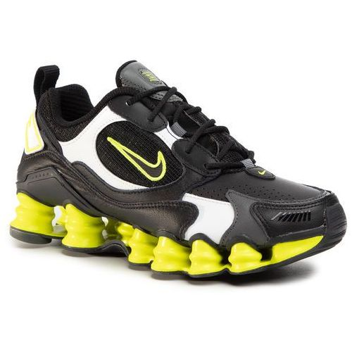 Buty NIKE - Shox Tl Nova AT8046 003 Black/Black/Lemon Venom