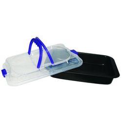 Brytfanna ILAG z pokrywą plastikową