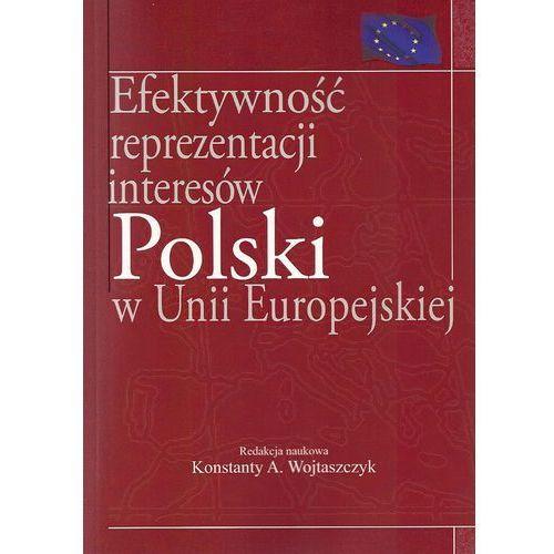Efektywność reprezentacji interesów polski w Unii Europejskiej (opr. miękka)