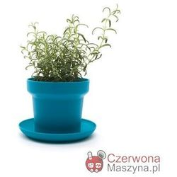 2 Doniczki na zioła Authentics Green niebieskie