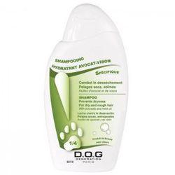 Dog Generation Hydrating Shampoo with Avocado & Mink Oils 250ml - szampon nawilżający z awokado i olejkiem norkowym