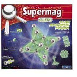 Klocki magnetyczne. Supermag Classic Glow 72