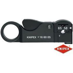 KNIPEX Narzędzie do ściągania izolacji z przewodów koncentrycznych (16 60 05 SB)