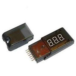 Tester, wskaźnik, miernik napięcia pakietów LiPo