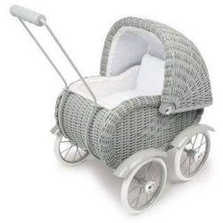 Wózek wiklinowy dla lalek Eliza