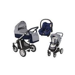 Wózek wielofunkcyjny 3w1 Lupo Dotty Baby Design + Citi GRATIS (granatowy)
